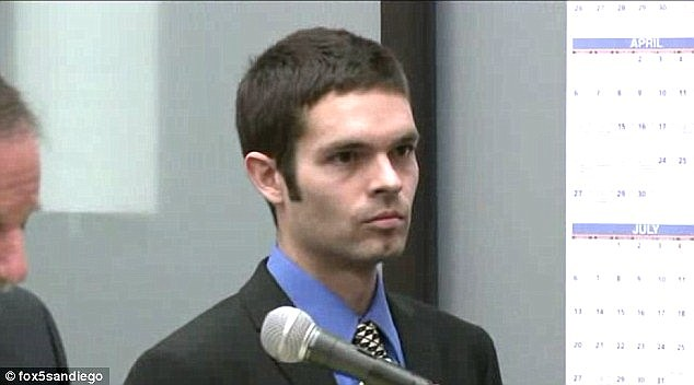 Convicted: Kevin Bollaert, 28, was facing 20 years after being found guilty of extortion and identity theft for running a despicable scheme for victims to pay to have their images removed from his revenge porn site