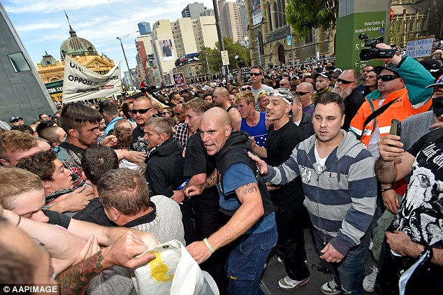 Across Australia, 16 rallies were scheduled to take place, but Sydney and Melbourne drew the biggest crowd