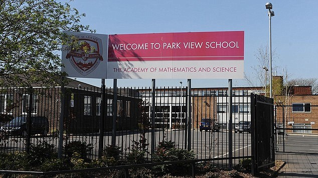 Park View School in Birmingham was one of the schools placed in special measures after inspectors found systemic failings in safeguarding pupils against extremism - up to 100 teachers are now being investigated