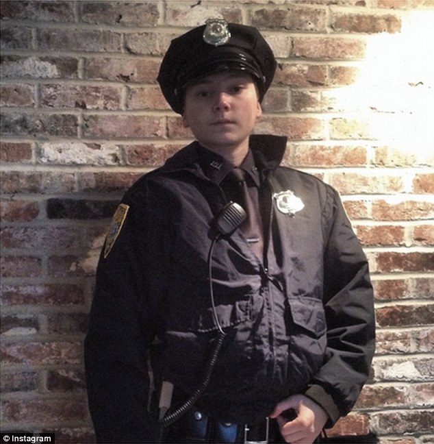 Chase Lacasse, 19, was arrested and charged with felony impersonation of police after visiting a New Hampshire ice cream stand in full uniform