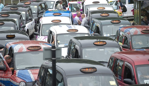 Asylum seekers and refugees applying to be minicab drivers are exempt from criminal records checks (file picture)