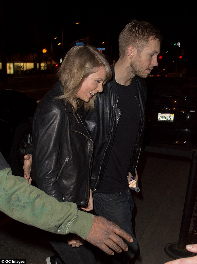 Red Carpet Biz : Taylor Swift and Calvin Harris