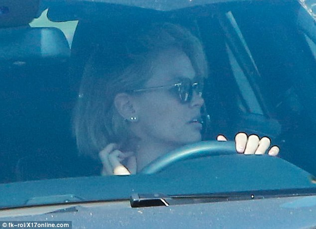 She's back! Monday's turn behind the wheel in Los Angeles comes after the beauty entrepreneur has previously had a driving record littered with mishaps back in her home town of Sydney
