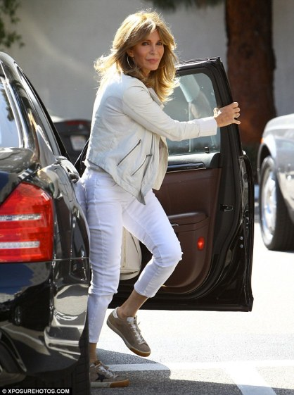 Fine at 69! Jaclyn Smith looked ageless as she stepped out to shop in Beverly Hills on Monday