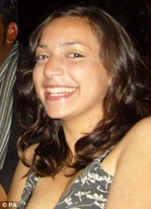 Victim: Meredith Kercher was killed while in her bed in Perugia in 2007