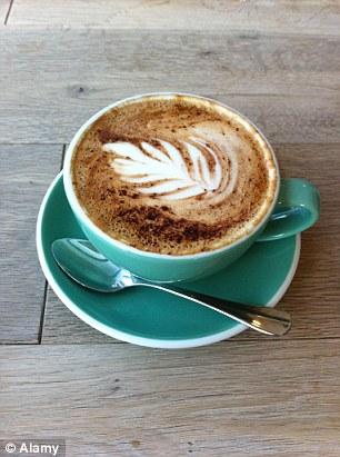 Lattes have a light espresso flavour