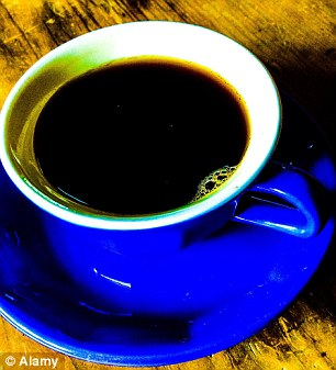 Plain black coffee is best served with doughnuts