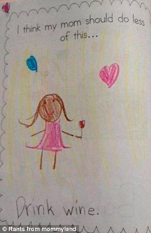 Childrens Drawings That Did NOT Make It Onto The Family