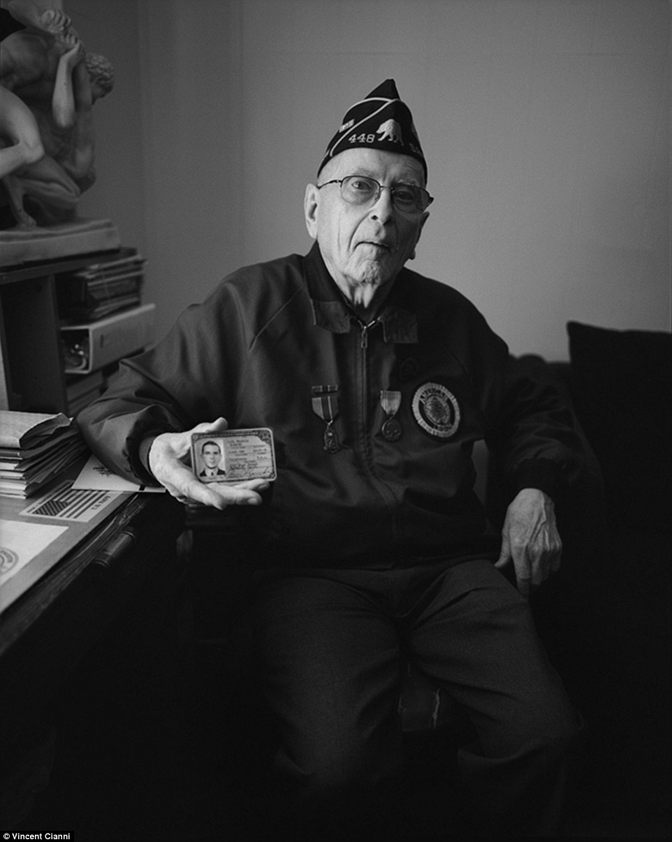 Veteran: Paul Goercke, of San Francisco, is a World War II veteran who served in Okinawa, Hawaii and Saipan, said there was 'no evidence of gay life' when he  enlisted with the Merchant Marines when he was 18