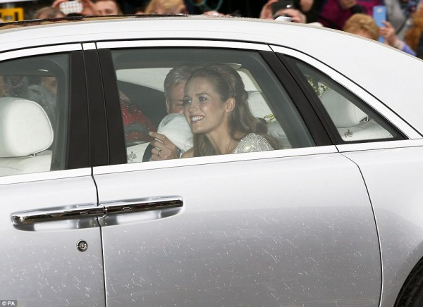 Andy Murray and Kim Sears' wedding at Dunblane Cathedral ...
