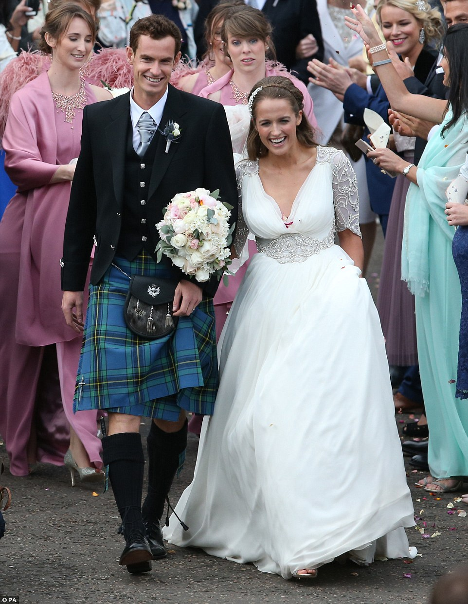 Image result for andy murray wedding