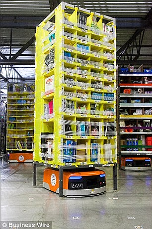 Amazon has already introduced robots to it vast warehouses to work along human employees