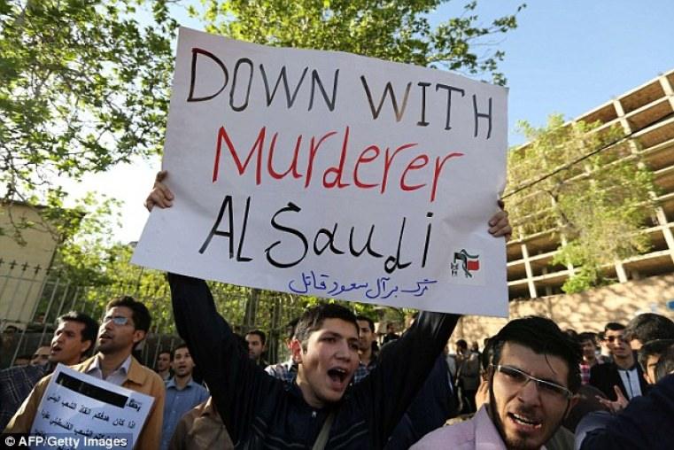 Relations between the two countries, Shiite Iran and Sunni Saudi Arabia, are hostile at the best of times