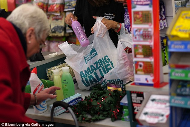Poundland has snowballed from a small private enterprise into a High Street revolution, which involves buying up unwanted stock and end-of-lines (file picture)