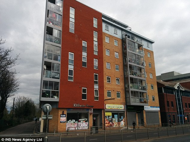 Mr Malik and Miss Kiran's last known address in Slough was in this block of flats (pictured on the left, above)