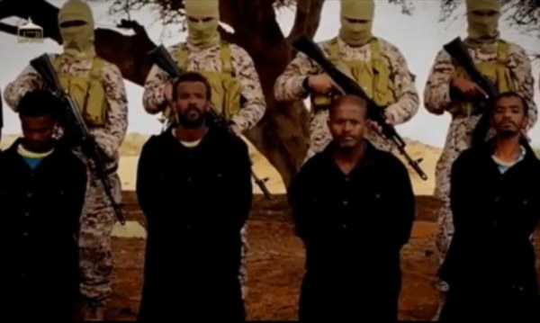ISIS behead and shoot Ethiopian Christians in propaganda ...
