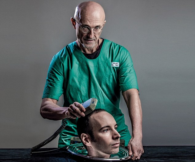 Controversial Surgeon Sergio Canavero plans to perform the first ever human head transplant, claiming the country which hosts the operation will be a 'world leader' like the US when it put a man on the Moon