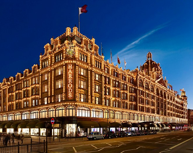 Striking: Qatar Holding bought luxury department store Harrods from businessman Mohamed Al Fayed for a reported £1.4billion in 2010