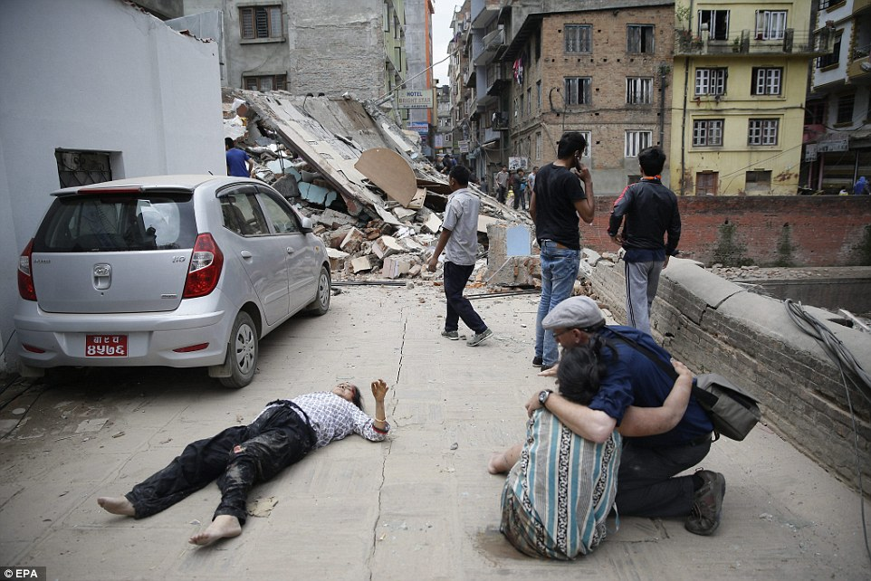 The earthquakew had an epicentre 80 kilometres north-west of Kathmandu,according to United States Geological Survey and strong tremors were also felt in large areas of northern and eastern India and Bangladesh