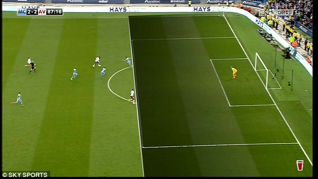 Christian Benteke Clearly Onside
