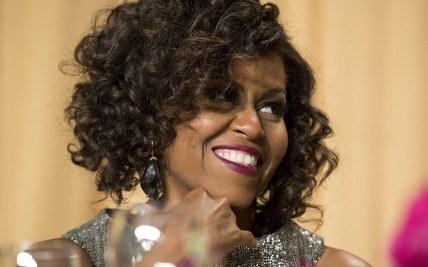 e2359b7f2a5c Michelle Obama unveils new curly hair CorvetteForum