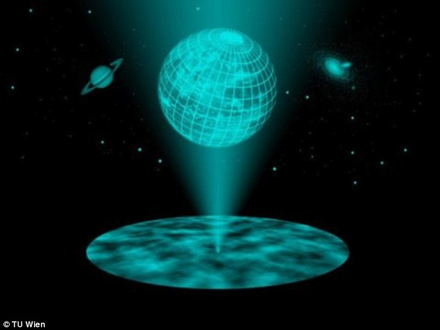 We are living in a giant hologram, and everything we see around us is a projection of a 2D surface. This is the bizarre theory put forward in 1997 by Juan Maldacena.Now researchers in Austria have, for the first time, been able to show how this strange holographic principle can work in a realistic model of our cosmos