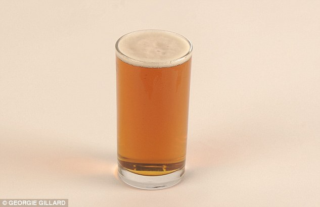 Beer lovers won't cheer the fact there's 100 calories in just half a pint of bitter