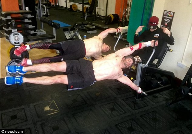The impressive move, which requires incredible strength, is part ofcalisthenics, an exercise regime