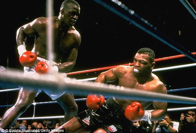 Image result for Tyson Douglas fight