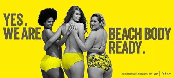 Dove release Beach Body Ready poster to spoof Protein
