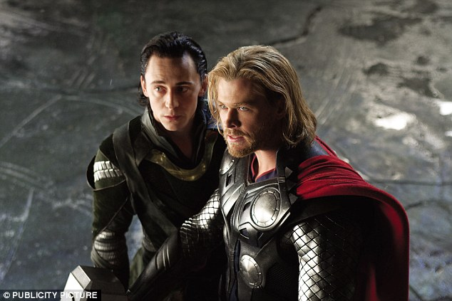 Next chapter: Hiddleston is of course famous for portraying Loki alongside Chris Hemsworth in Thor