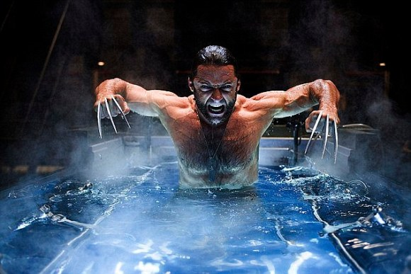 In the X-Men films, Wolverine (played by Hugh Jackman pictured) has mutant powers which mean he can heal himself - even when he's shot, or thrown from a building. And researchers in the US are working on an implant that would make these superhuman powers a reality