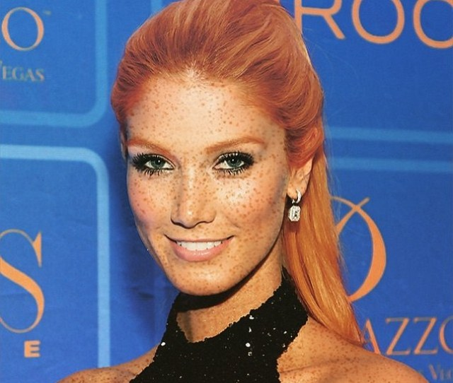 Flame Haired Beauty Looking Hot To Trot Is Formerly Blonde Delta Goodrem Or