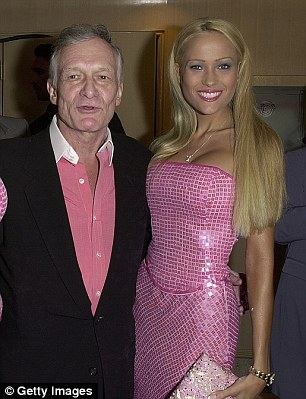 Hugh Hefner and Sandy Bentley