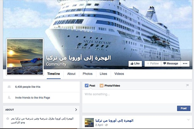 Hiding: Some of the pages spell Europe wrong - possibly to avoid detection from the authorities