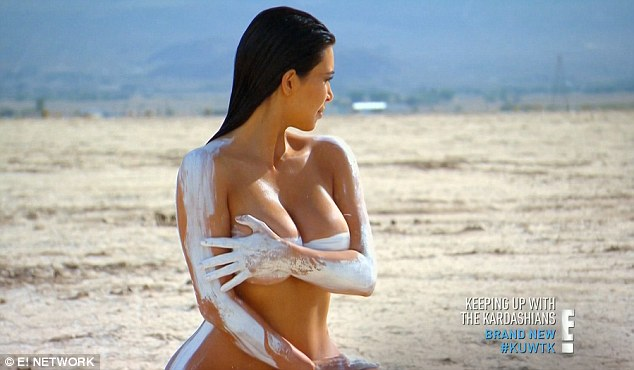 Assets: 'I want to capture really cool moments and have some great shoots and be nude and do all this cool stuff', Kim said