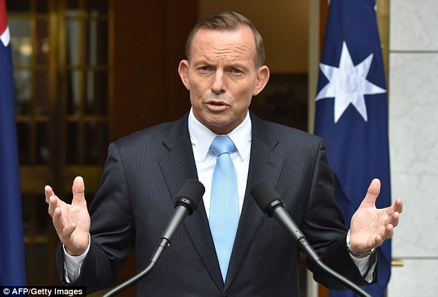 Prime Minister Tony Abbott said the funds were to ensure security agencies were properly resourced