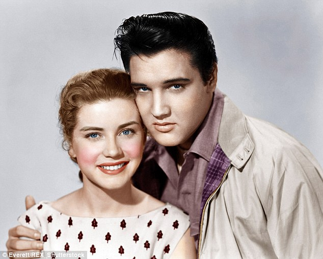 Image result for elvis and dolores hart