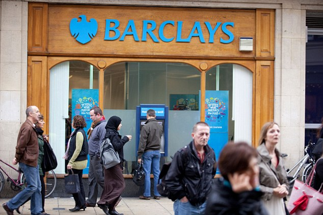 Scam: UK giant Barclays was among five major banks found to have rigged the £3.5trillion-a-day foreign exchange (forex) market