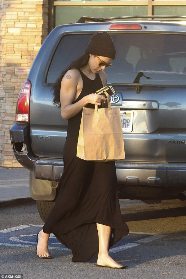 Rumer Willis heads in to last ever rehearsal ahead of ...