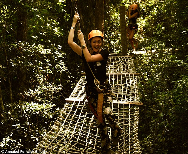 There is nothing non-terrifying about sailing through Selvatica's jungle along a course of whistling cables and rope ladders, but it is a fantastic viewpoint from which to witness the centuries-old trees