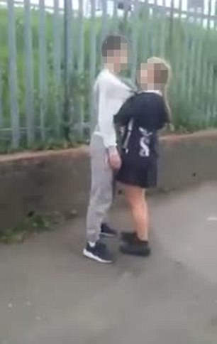 A 14-year-old girl has been charged with assault by beating after a video of a young boy being repeatedly punched in the face was viewed more than 2.5million times on Facebook in less than a week