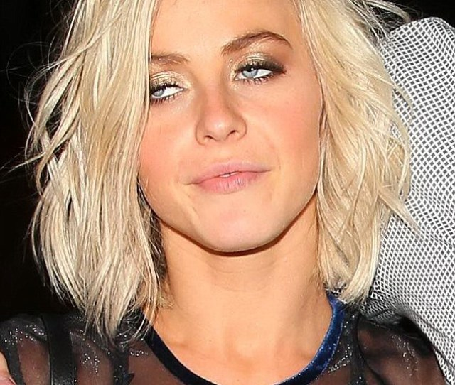 Bleary Eyed Julianne Hough Was Seen Nearly Taking A Tumble On Tuesday Night In