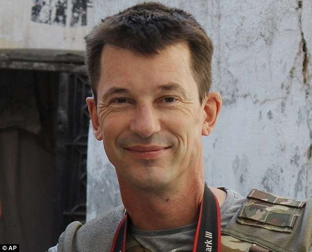 ISIS hostage: The article making the claims was apparently written by Briton John Cantlie, who has been held captive for more than two years