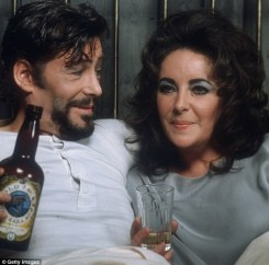 Image result for peter o'toole and liz taylor