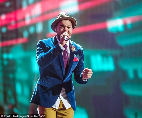 What a Guy! Sebastian rocks Eurovision stage in historic ...