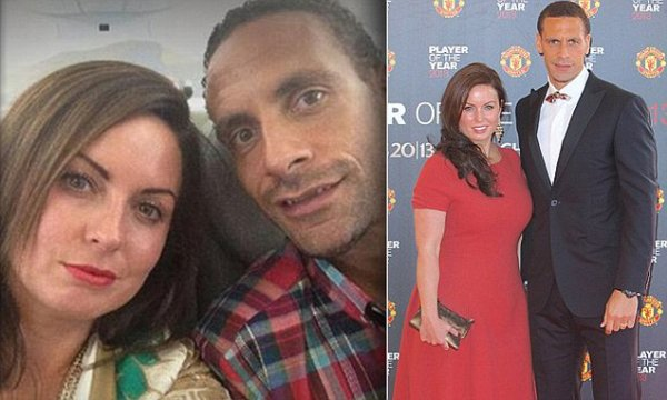 Rio Ferdinand reveals his heartache after wife Rebecca's ...