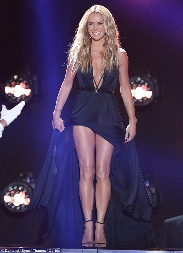 The Wow Factor Amanda Holden Went All Out For The First Semi Final On