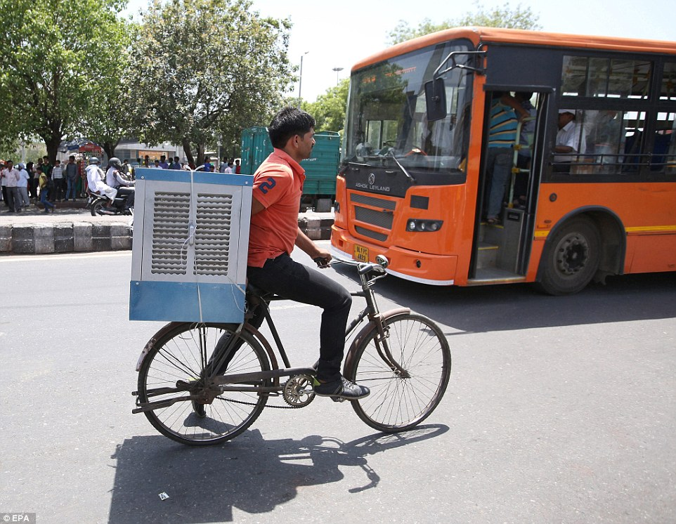 Eleven people were confirmed to have died in the eastern state of Orissa and another 13 succumbed to the heat in neighbouring West Bengal, where unions urged drivers to stay off the roads during the day