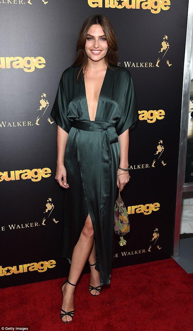 Alyssa Miller Steals The Show At Entourage Premiere In